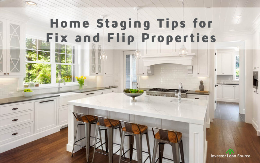 Home Staging Tips Fix and Flip Investment