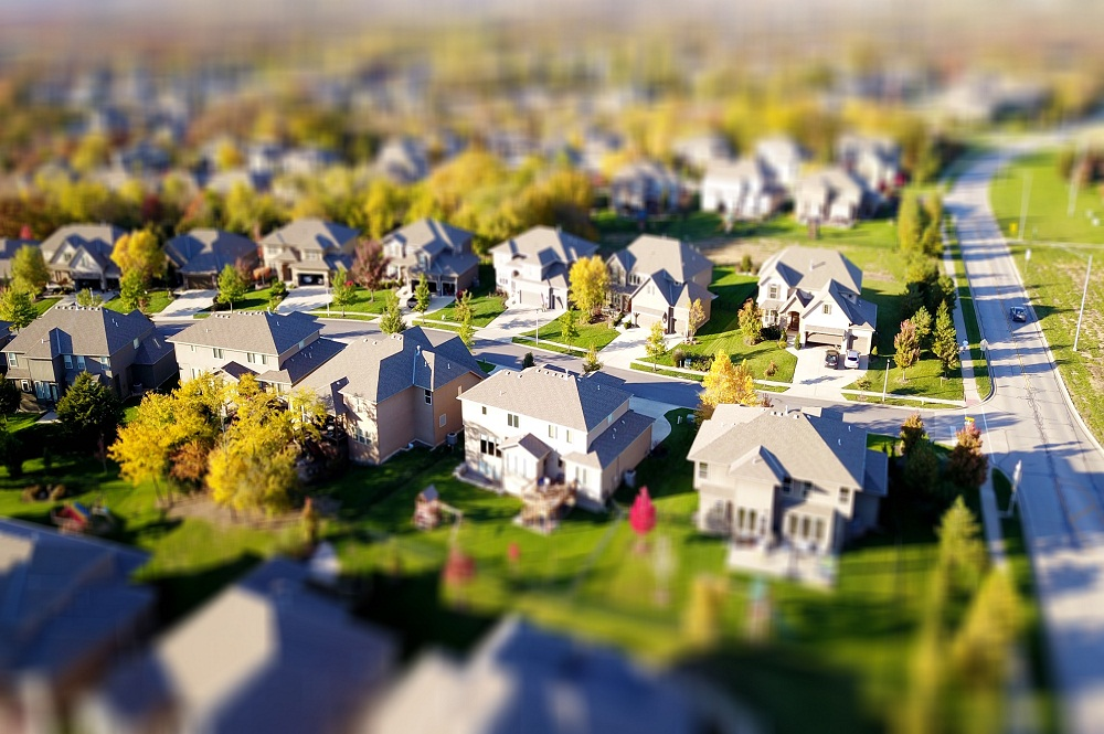 Aerial View of Real Estate