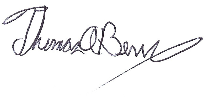 Tom Berry Signature